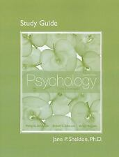 Study Guide for Psychology: Core Concepts