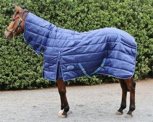 Barnsby Equestrian 420D/210D Denier With Neck Combo Horse Stable Rug / Blanket