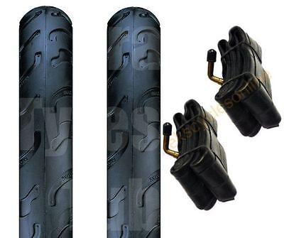 Bugaboo Pram Tyres & Tubes 12 1/2 X 2 1/4 (Pair) Slick