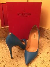 Nearly New • Valentino Rockstud Sky Blue Heels 38.5 (8.5M) Worn Once! $795