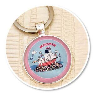Moomins  keyring key ring Moomin & friends (b)