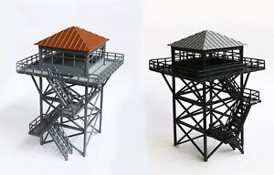 Outland Models Modelleisenbahn Landschaft hohen Wachturm / Aussichtsturm Spur H0