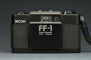 Ricoh-FF1-vintage-35mm-camera-Film-Tested-case-Rikenon-F2-8-1978-EXC-Lomo