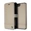 BMW-IPHONE-8-piu-amp-IPHONE-7-piu-Custodia-Taupe-Rigida-Stile-Libro-Vera-Pelle miniatura 1
