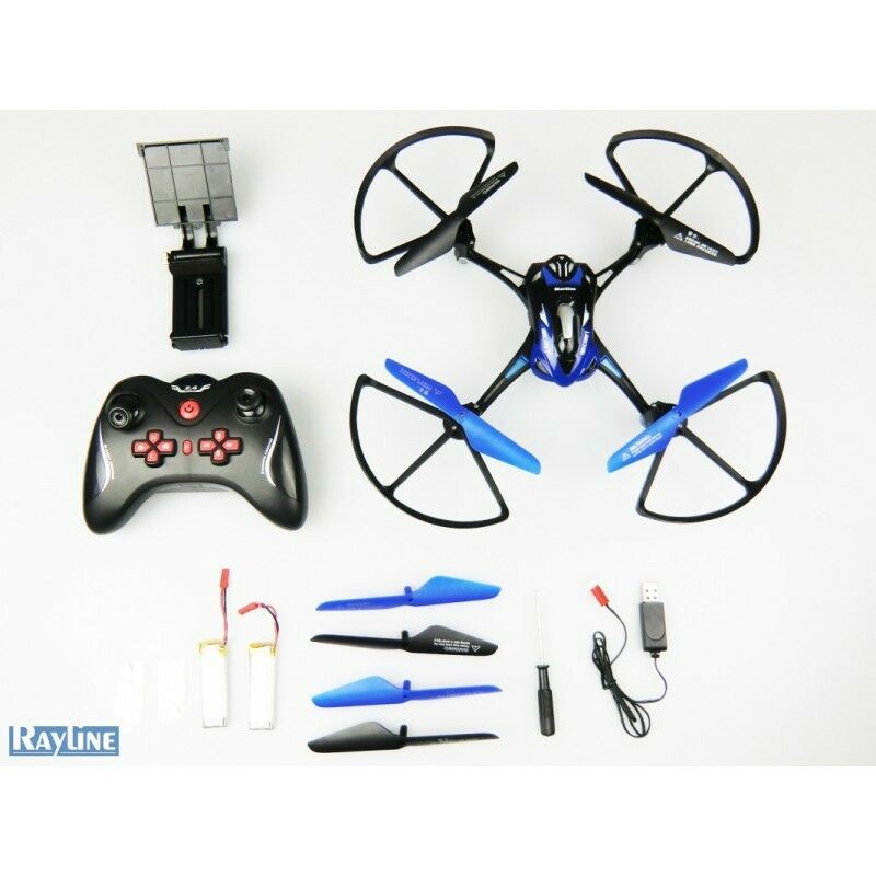 DRONE VOLANT 4 HELICES RC WiFi 2.4 GHz SUPER STABLE + CAMERA HD OFFERT