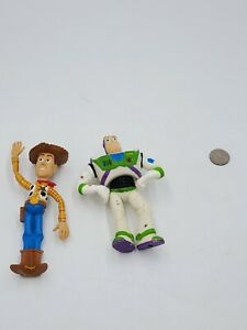 Lot-Of-2-2009-Swimways-Toy-Story-Action-Figures-Woody-Buzz-Lightyear