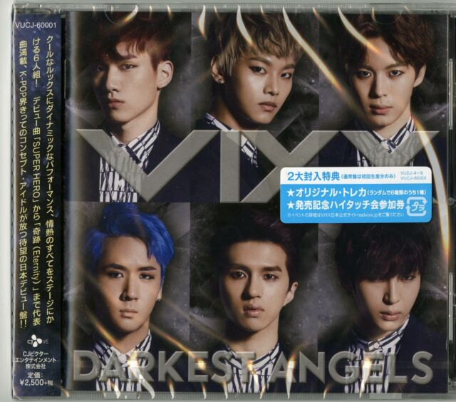 VIXX-DARKEST ANGELS -JAPAN CD F56