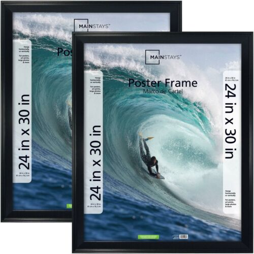 """Mainstays 24/"""" X 30/"""" Casual Black Poster Frame"""