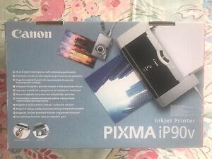Brand-New-in-Box-Canon-PIXMA-iP90-Mobile-Inkjet-Printer-Never-Used-Ex-Cond