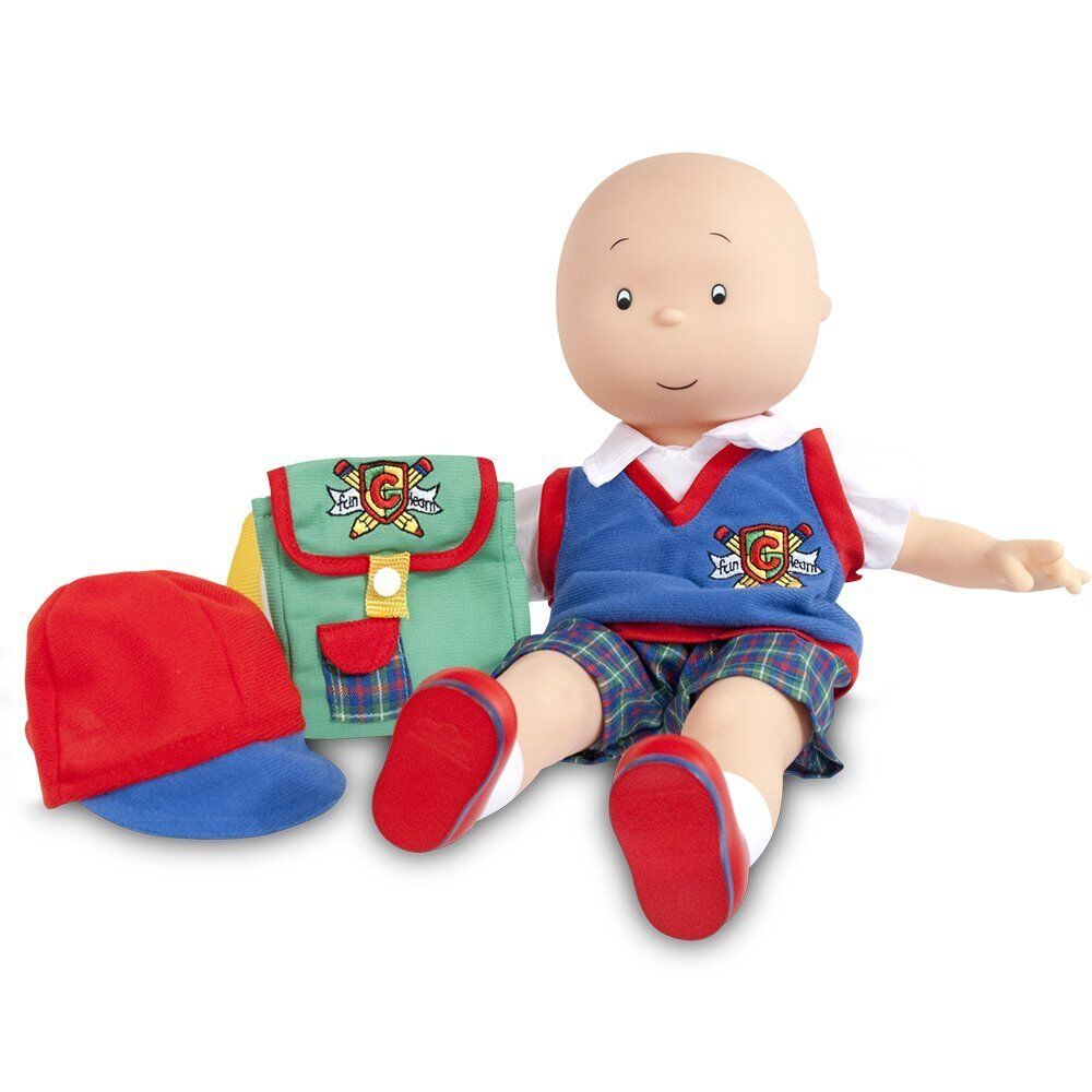 Caillou My Friend Talking Doll Original Series TV Jointed Talking Toys