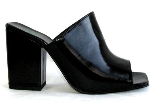 Quelques Cm Glac Tout Talons Mules De Noir Shoes Cuir Plus 9 61qw6Tar
