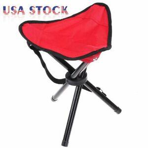 Portable-Folding-Tripod-Chair-Stool-Travel-Hiking-Camping-Fishing-Slacker-Large