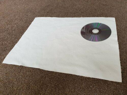 Crema 40x30cm Calidad 100/% cuero italiano artesanal Parche de reparación de recortes de 1.1mm