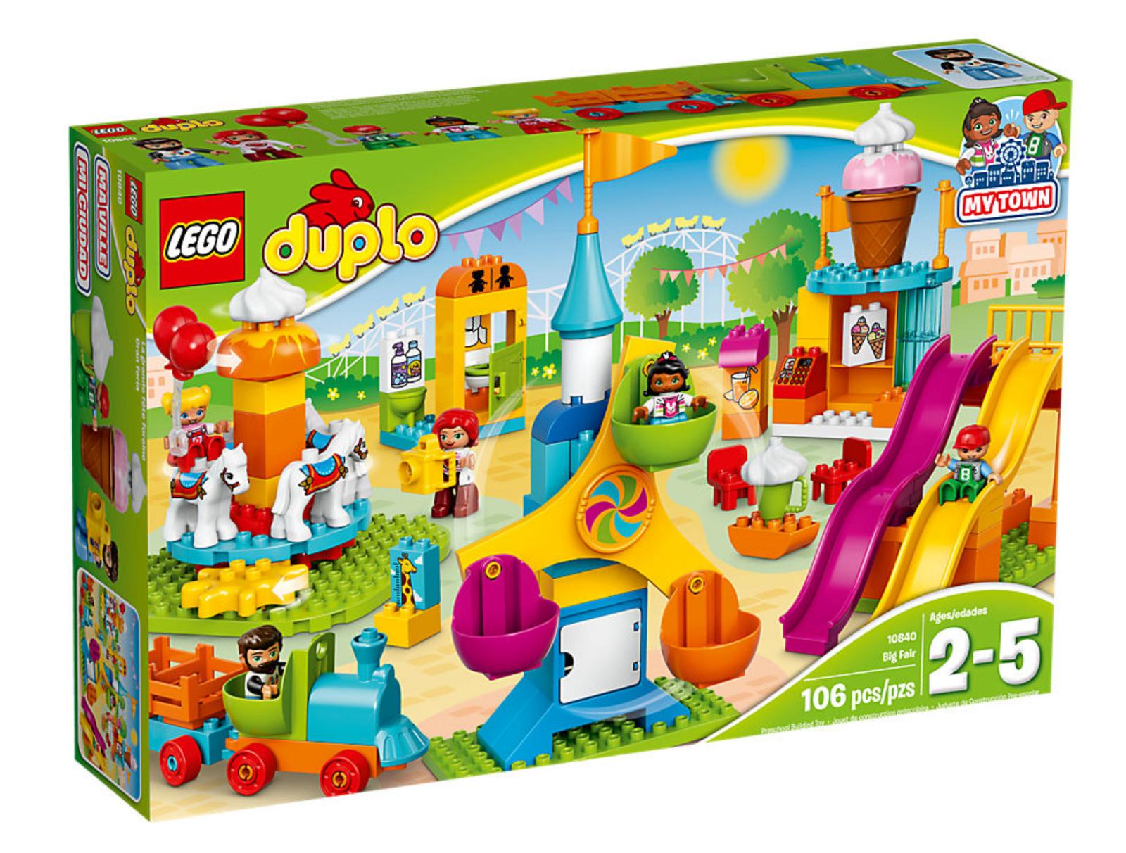 LEGO DUPLO 10840-Grande  fête foraine NEUF neuf dans sa boîte  Achetez maintenant