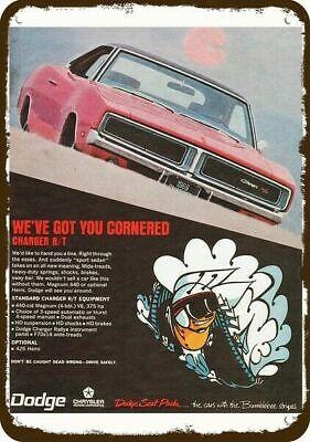 Vintage Look 1967 Dodge RT 440 Metal Sign