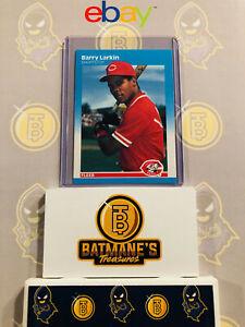 1987 Fleer Barry Larkin #204 Rookie RC MINT Baseball Card PSA/GMA/Becket Ready!