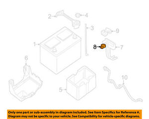 NISSAN OEM-Battery Terminal-Positive 243407F000