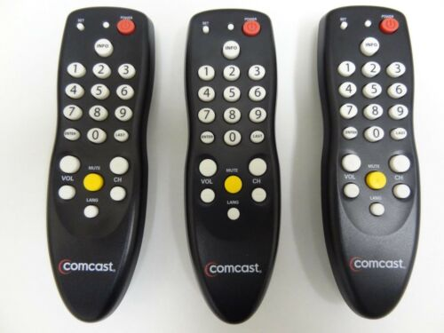 Lot of 3 Comcast  Tv Remote Control 3067BC2-R C104602 LCD Plasma Tv