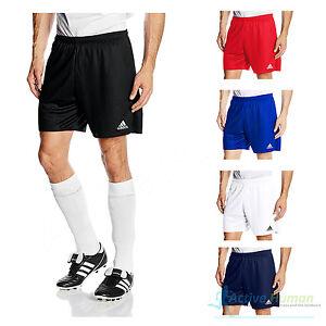 Details zu Adidas Herren Shorts Parma 16 Fußball Innenfutter Training Weiß Größe L XL