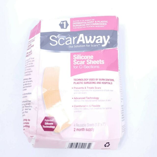 ScarAway C-Section Scar Treatment Strips, Silicone ...