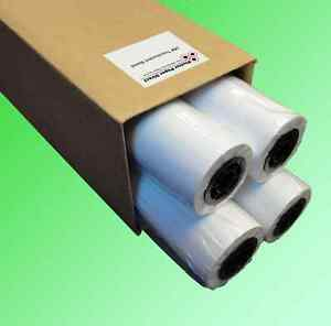 "4 rolls 42"" x 150' 18lb Translucent Bond Paper for Wide Format Inkjet Printers"