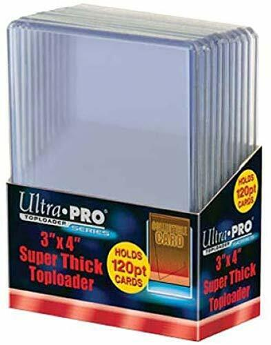 Super Thick Cards 120pt Import allemand Topload 3 x 4/' 10 ct.
