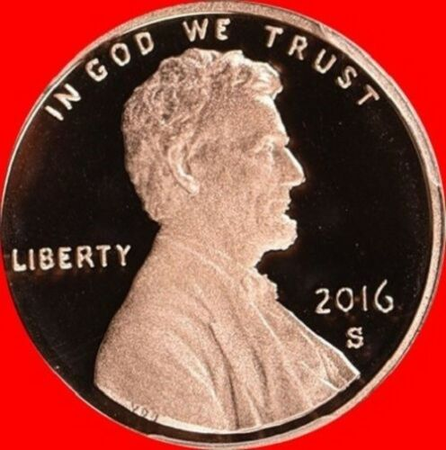 2016 S Lincoln Shield Cent PROOF Deep Cameo 1¢