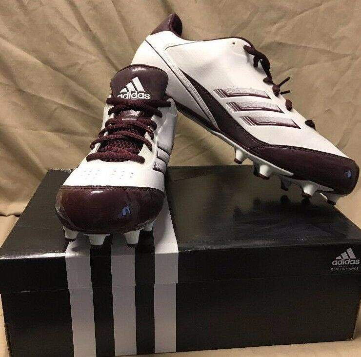 9452b2e9e5a New Adidas AS SMU X Fly Low NC Men s Football Cleats G49989 Scorch  nulrry8338-Men