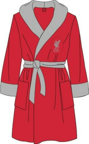 NEW Men/'s Official Football Club Fleece Dressing Gown Robe Size Medium Large XL