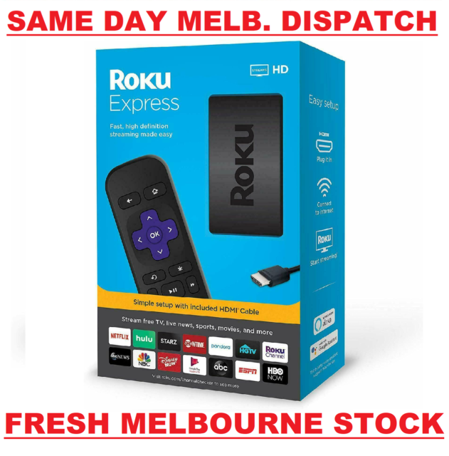 Roku Express Latest Edition 3930R HD 1080p HDMI TV Streamer Netflix Prime Video