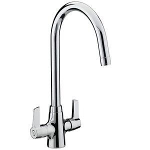 Bristan-Echo-Kitchen-Sink-Mixer-Tap-Double-Lever-Modern-EasyFit-Chrome
