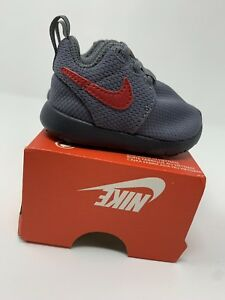 f787a3b40d933 Image is loading BABY-BOYS-Nike-Roshe-One-Shoes-Gray-Size-