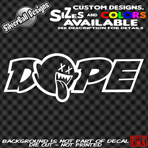 Dope-Boo-Custom-Vinyl-Decal-Sticker-Car-Truck-Window-Nintendo-JDM-drift-illest