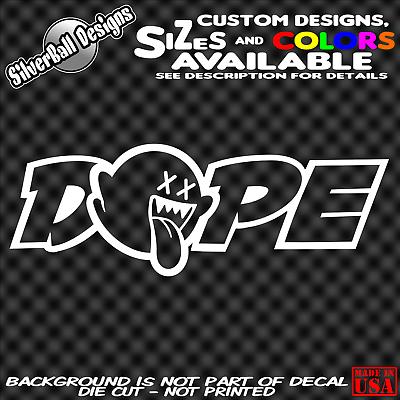 Mario Boo Dope sticker