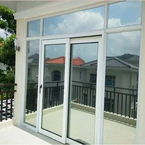 Silver Mirrored window film Home tint Glass Sticker Reflective WINDOW HOHOFILM