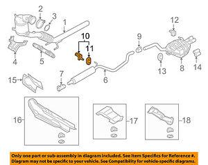 vw volkswagen oem 15 18 golf 1 8l l4 exhaust front hanger 5q0253144simage is loading vw volkswagen oem 15 18 golf 1 8l