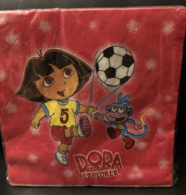 Dora the Explorer Beverage Napkins 16 Ct.