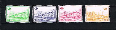Kompetent Belgien 1968 Eisenbahnpaketmarken 341/43 Und 345 Lokomotive Postfrisch Wohltuend FüR Das Sperma Europa