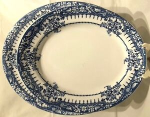 Maling-FORMOSA-Antique-Blue-White-Meat-Platters-Kitchen-Dining-Home-Decor-Gift