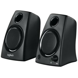 Logitech Z130 Speaker 2.0 5Watt black, Stereo-Lautspr