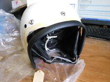 NOS Vintage NEW Vepo Lux White Helmet Made in Italy 7 3/4 62CM Vespa