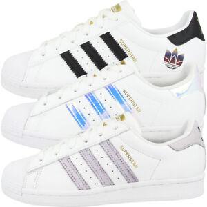 Adidas-Superstar-cortos-senora-Originals-ocio-zapatos-zapatillas-clasico