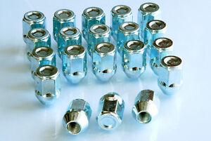Conjunto-De-20-M12-x-1-5-19mm-Hex-tuercas-de-ruedas-Zapatas-TORNILLOS-PARA