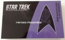 STAR TREK STARSHIPS ENTERPRISE NX-01 DEDICATION PLAQUE BNIB EAGLEMOSS