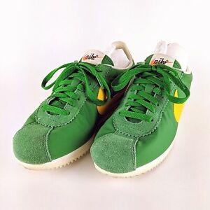 NIKE-Green-2017-Cortez-Low-Sneakers-882258-301-Size-8