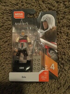 MEGA CONSTRUX HEROES ASSASSIN/'S CREED EZIO IN HAND!