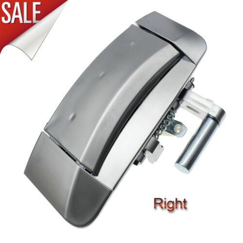 Passenger Outside Outer Silver Door Handle Fits 2003-2009 Nissan 350Z Right