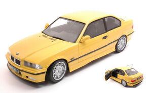 Modello-auto-scala-1-18-Solido-BMW-E36-M3-COUPE-Diecast-modellcar-NUOVO