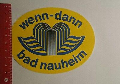 Decal/Sticker: if then Bad Nauheim (24111630)   eBay