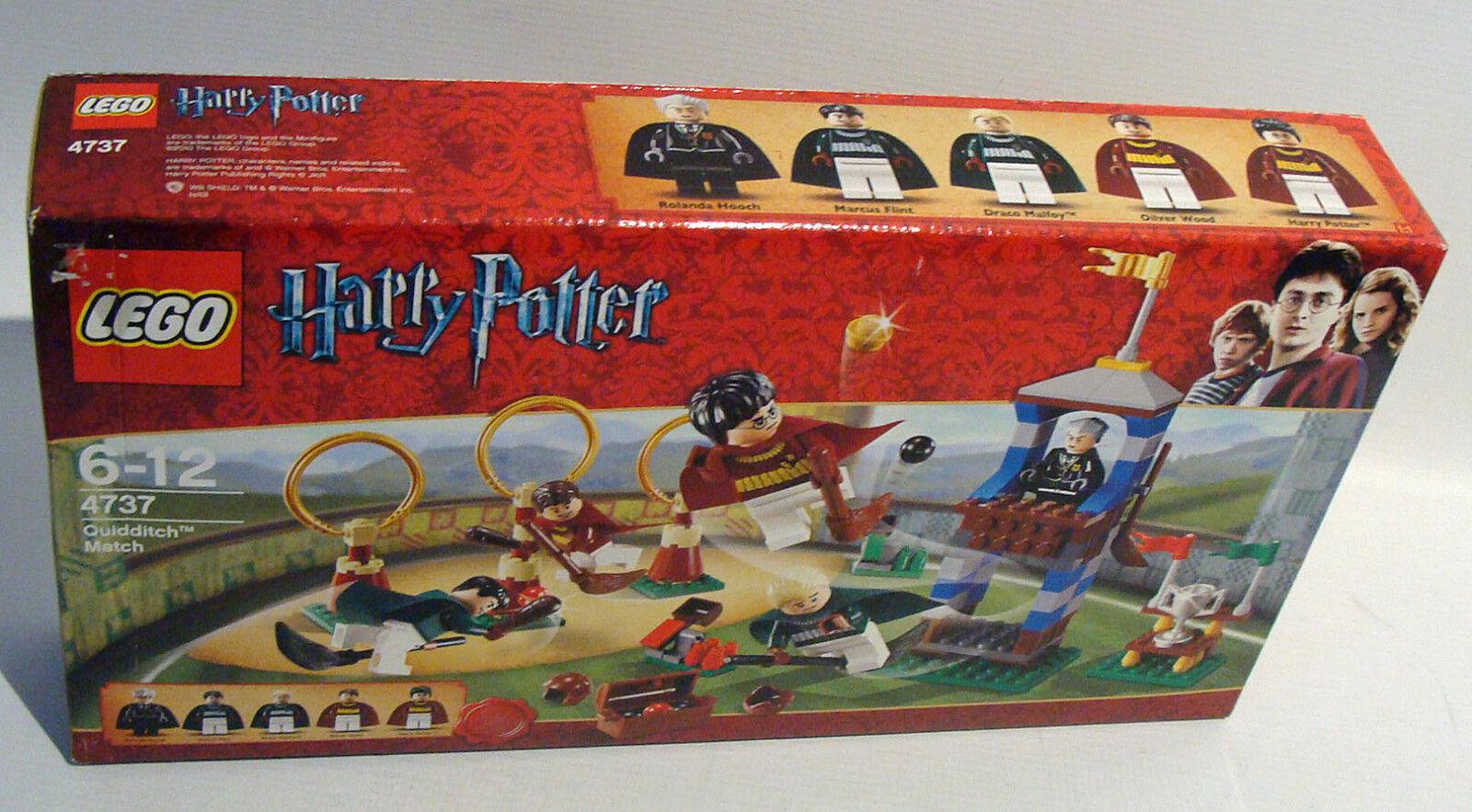 Lego® Harry Potter 4737 - Quidditch Turnier 153 153 153 Teile 6-12 Jahren Neu 597d31
